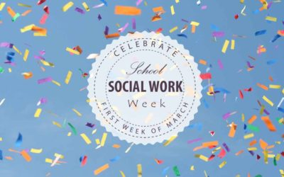 school social work week celebration